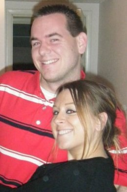 Jordan Bucher and Missy Nolan, December 2009.