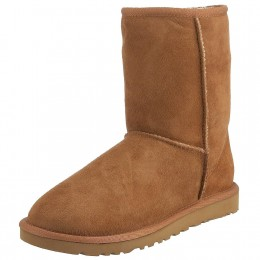 Classic Short UGG boots shown in chestnut.