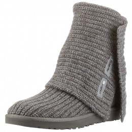 UGG Classic Cardy Boots shown in gray.
