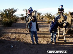 Heading towards the Sahara Desert