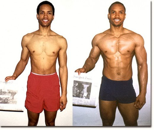 Anthony Ellis (pictured above) was a hard-gainer who made an outstanding physical transformation in 12 weeks.