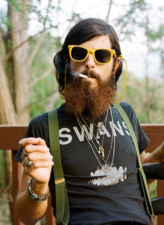 A dirty hipster.