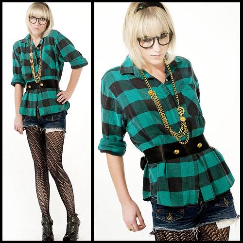 Hipster fashion.