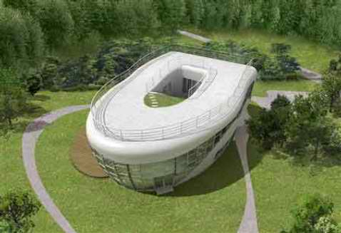 A TOILET-SHAPED HOUSE Photo Source: http://cache.gizmodo.com/assets/resources/2007/10/toilet_house.jpg