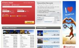 HotelClub.com Website
