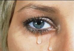 Tears..clean my eyes
