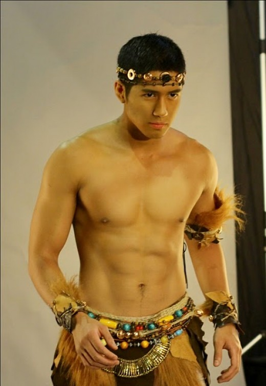 Aljur Abrenica as Machete courtesy of GMA Network