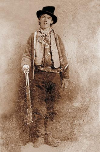 Only known picture of Billy The Kid.