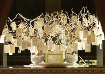 Ideas for Wedding Wish Trees Instead of Guest Books | Holidappy
