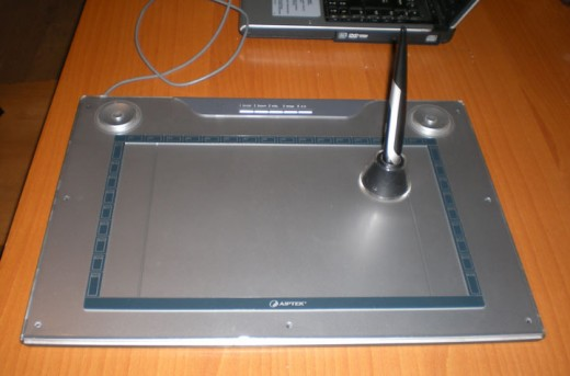 Aiptek graphics tablet