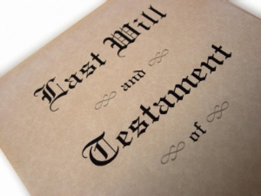 How to Look Up a Will
