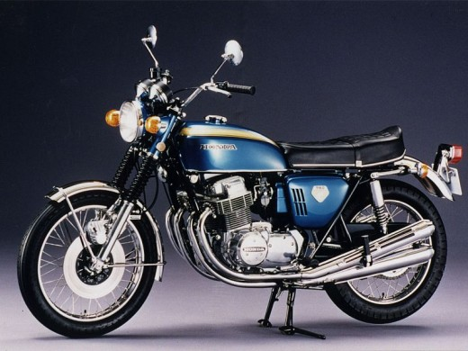 The classic CB750