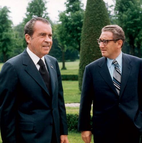 Richard Nixon- Henry Kissinger