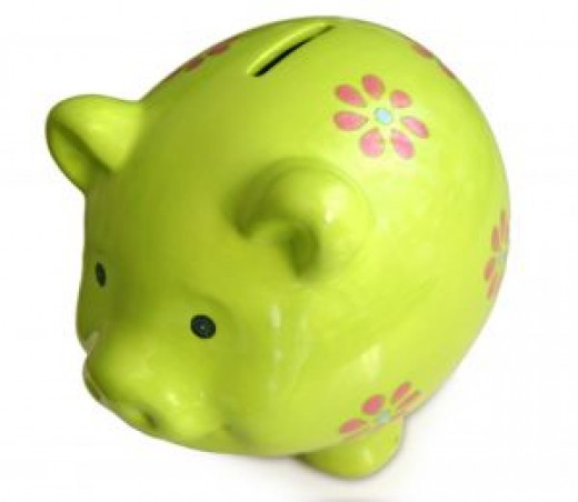 Piggy Bank. Image by Carlos Koblischek