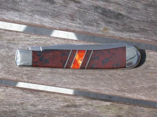 Case Trapper Mahogany Obsidian