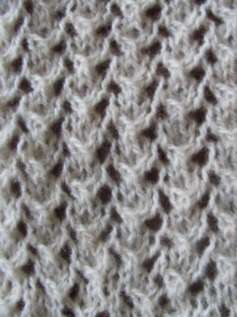 Detail of a lace scarf I am making. I'm not good at crafts - if I can do it, you can do it!