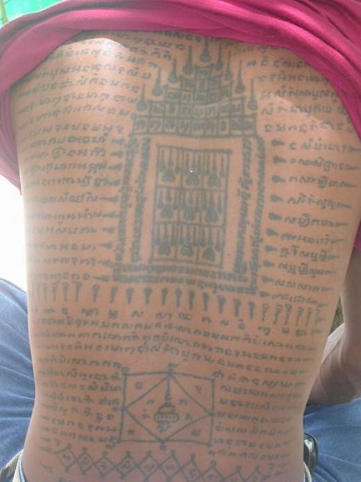Thai Tattoo Blessing