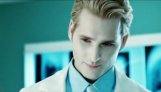 "Dr. Carlisle Cullen from the ""Twilight"" saga."