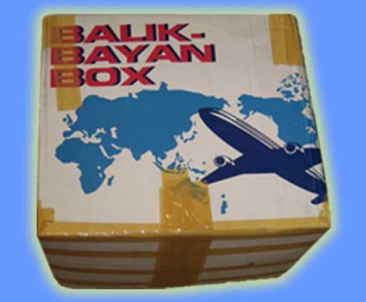 A Balikbayan box