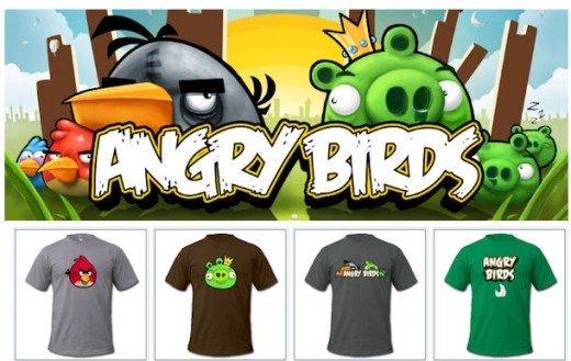 Visit the offiical Angry Birds t-shirt shop!  Click the link below...