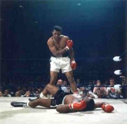 Ali had one of the quickest and hardest punches combined