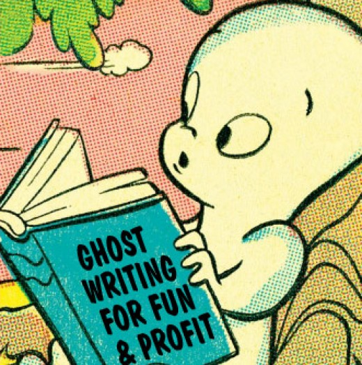 Ghostwriting can be fun and profitable!
