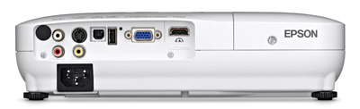 PowerLite from behind - Home cinema projector reviews 2014