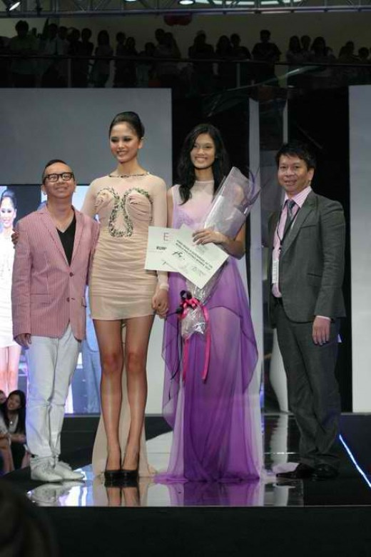 Danica Magpantay, winning the Ford Supermodel of the Philippines title