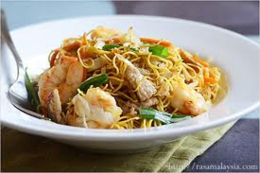 Chinese noodles for long life