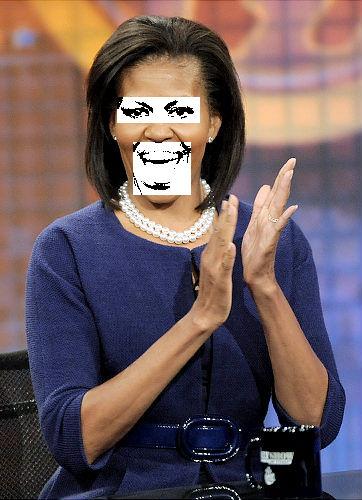 Michelle Obama expression (BIC) Digi-Works 2011
