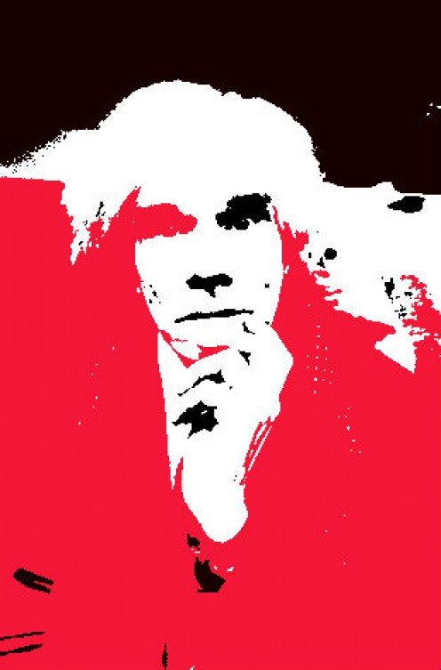 Warhol Style on Warhol picture