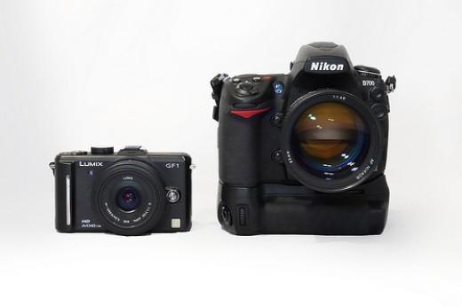 GF1 vs Nikon D700