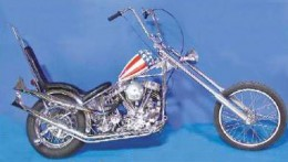 """The Tejas Thump Cycle Kit once fully assembled. Very original and """"unstoppable."""""""