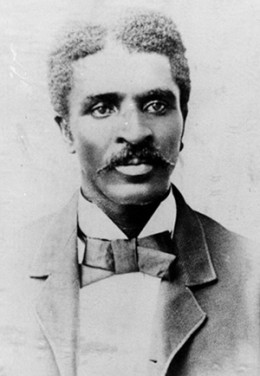 A younger George Washington Carver.