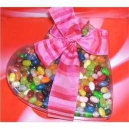 Jelly Belly Jelly Beans Valentine's Day Candy 1 Lb Gift Heart