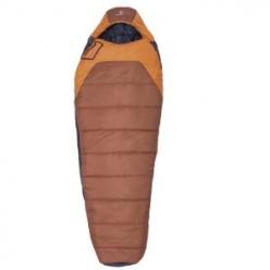 10-Swiss Gear Crevasse 0-Degree Mummy Sleeping Bag (Rust-Orange)