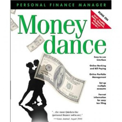 Money Dance Personal Finance Software Box
