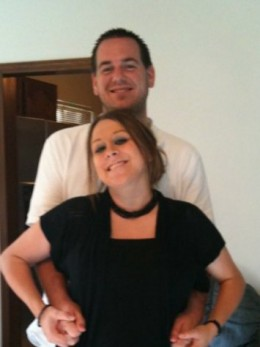 Jordan Bucher and Missy Nolan, Summer of 2010