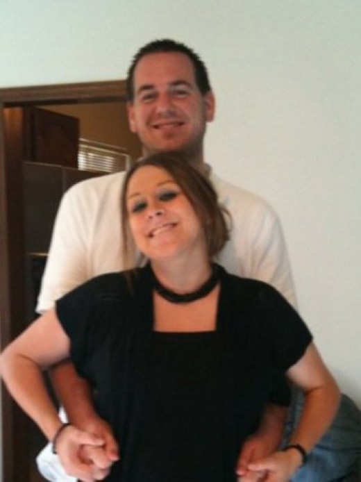 Jordan Bucher and Missy Nolan, Summer of 2010