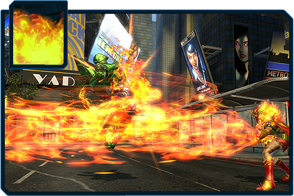 DC Universe Online - Fire Power