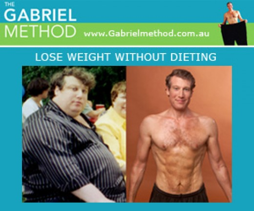 Author Jon Gabriel and his Weight Loss