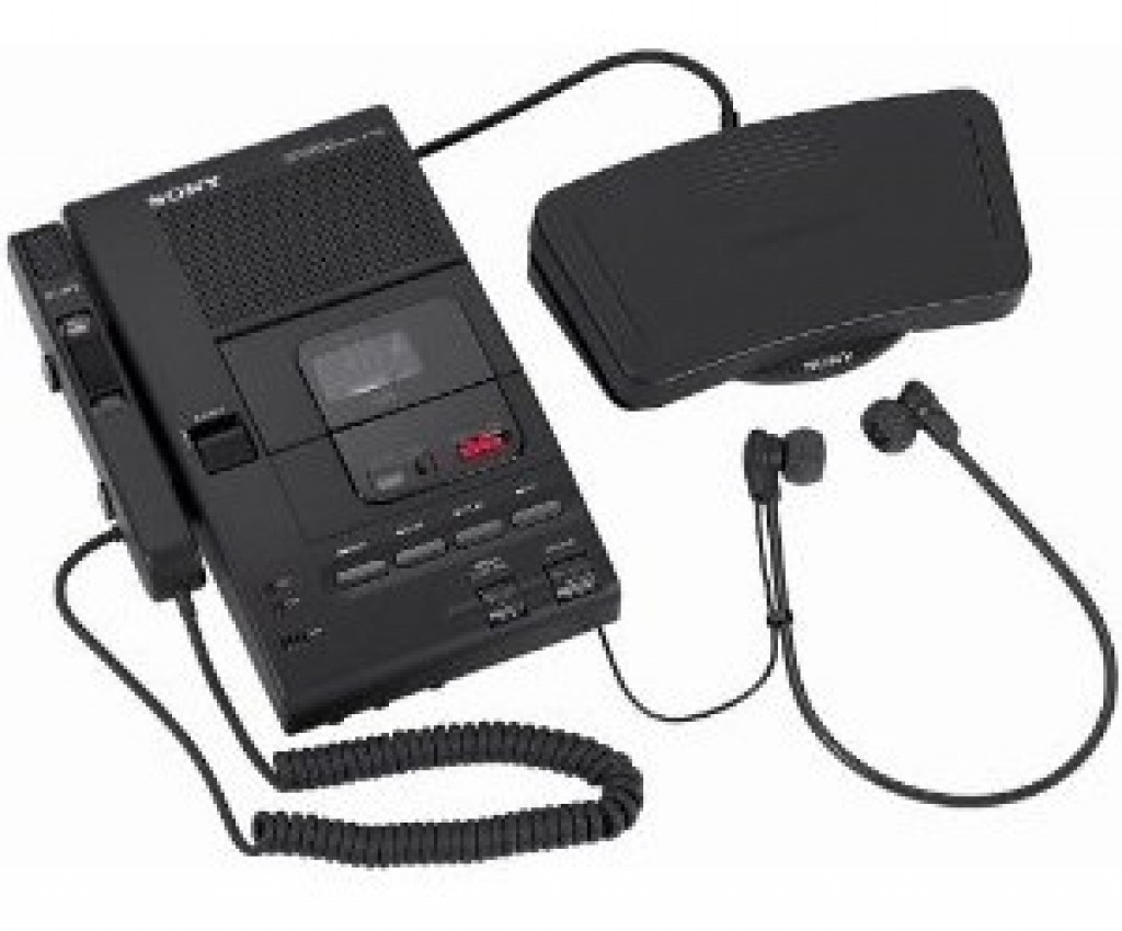 Dictation Machines – Sony Dictation and Transcriber System