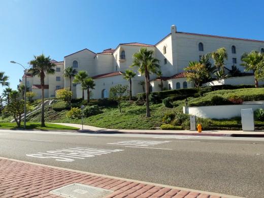 "Side View of the ""Hyatt Regency Resort & Spa"""