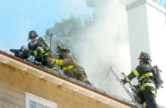 Norwalk, Conn., Firefighters on the Job -- Hour Photo Eric Trautmann