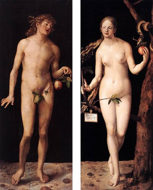 Adam and Eve (Albrecht Durer, 1507)