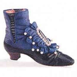 Victorian ankle boot