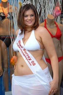 Chloe Marshall, plus size model