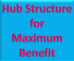 Hub Structure for Maximum Benefit
