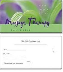 Printable massage gift certificates lektonfo printable massage gift certificates yelopaper Gallery