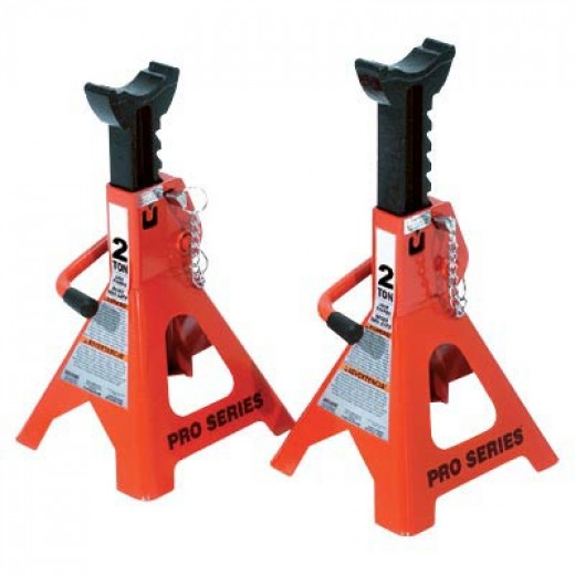2-Ton Torin Double-Locking Jack Stands  2-Ton